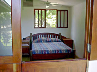 Bedroom at the Beach Home in Costa Rica